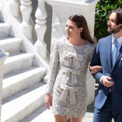Charlotte Casiraghi y Dimitri Rassam, recién casados