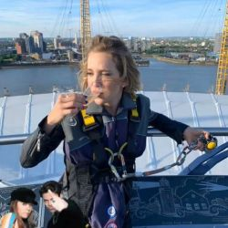 Lopilato escalando Londres