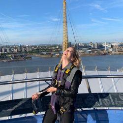 Luisana Lopilato escaló en Londres