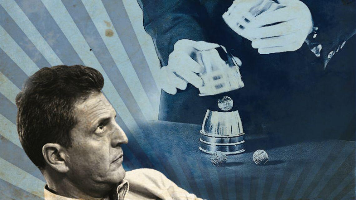 "Sergio ""Petty Advantage"" Massa, as the Renewal Front leader was nicknamed by Macri."