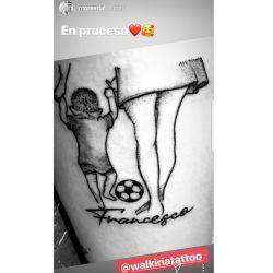 Los tatuajes de Facundo Ambrosioni y More Rial