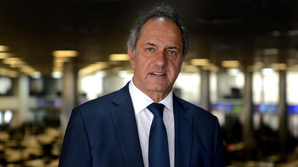 Daniel Scioli, en la entrevista con Jorge Fontevecchia.
