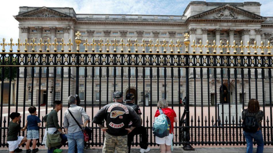 palacio de buckingham viaje donald trump
