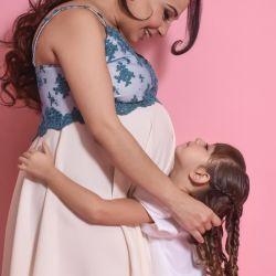 Antes de dar a luz, una Bandana reveló el nombre de su hija