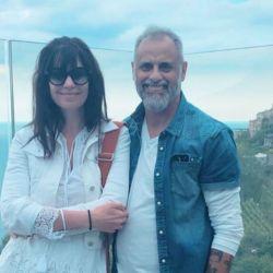 Romina Pereiro y Jorge Rial