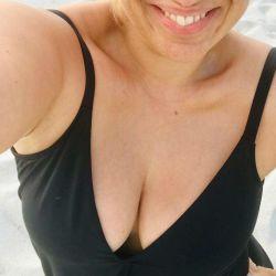 Las vacaciones de María Julia Oliván en Miami.