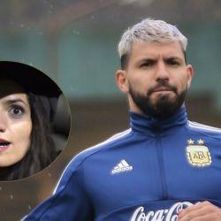 Mayra y Sergio Agüero