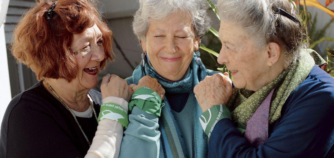 Martha, Olga y Alicia: las luchadoras por la legalización del aborto desde hace 30 años