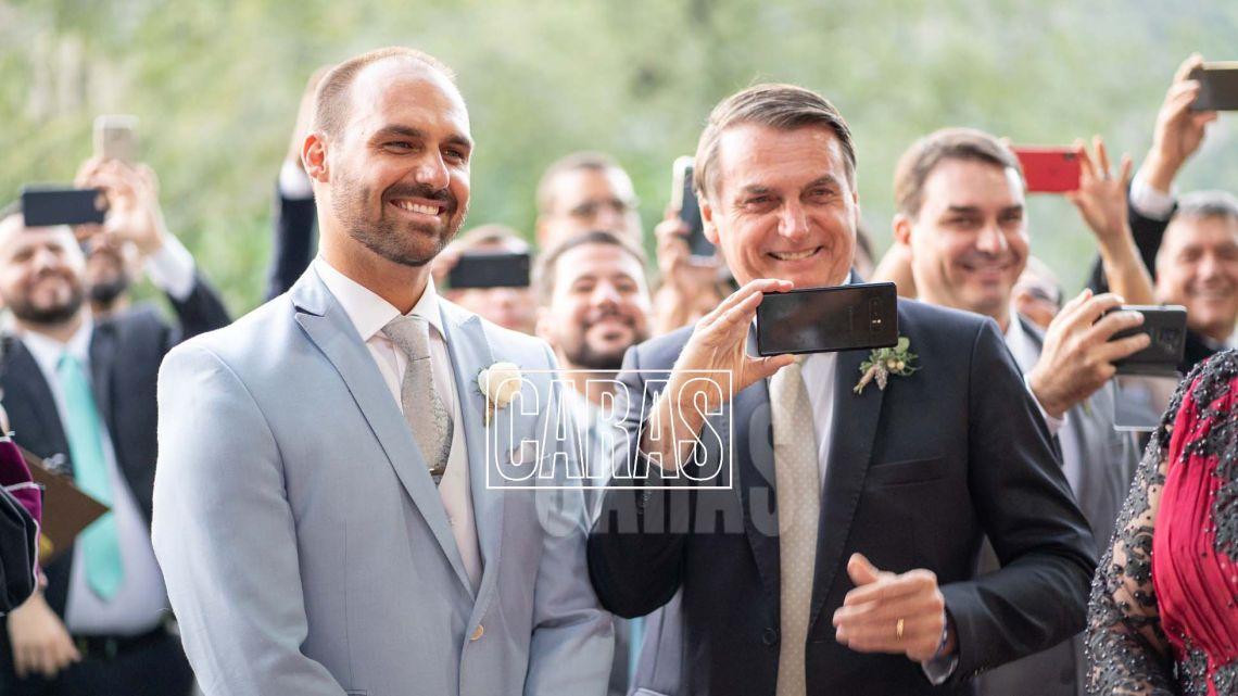 Bolsonaro Jr Casamiento