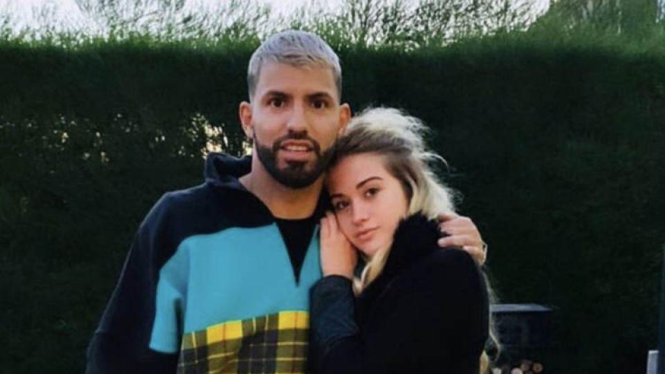 Romance confirmado, el Kun Aguero y Sofía Calzetti