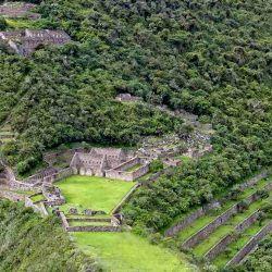"""En quechua, Choqueuirao significa """"cuna de oro""""."""