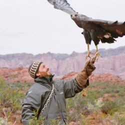 Andrés Capdevielle lidera el Proyecto Águila Coronada trabajando incansablemente para devolver las aves a su hábitat.