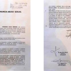 La denuncia de Fernanda Meneses