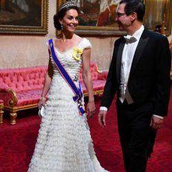 La reacción de Kate Middleton tras coincidir con su archienemiga en Buckingham