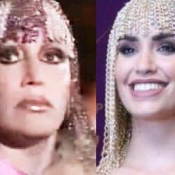 Rosalía elige el look de la polémica entre Moria Casán y Lali Espósito