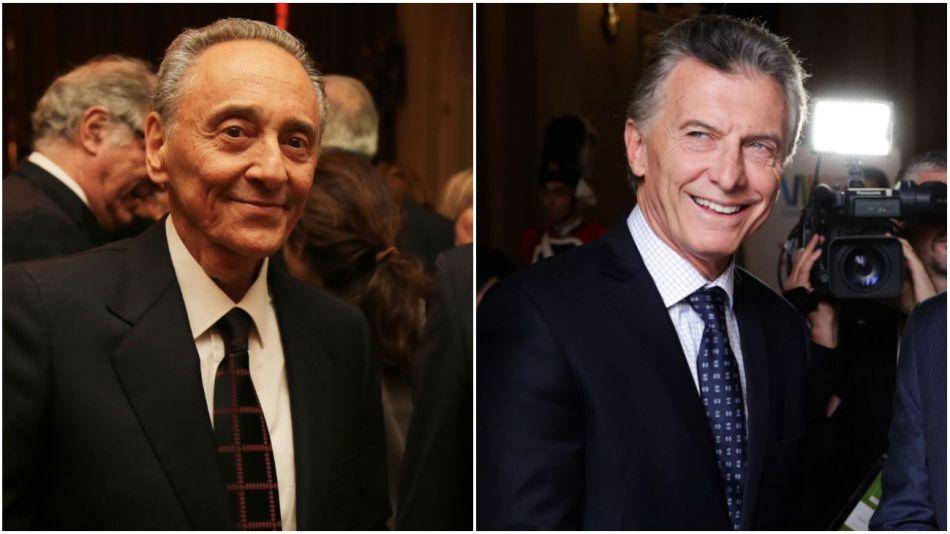 Archivo. Héctor Magnetto - Mauricio Macri. No hubo registros fotográficos de la reunión.
