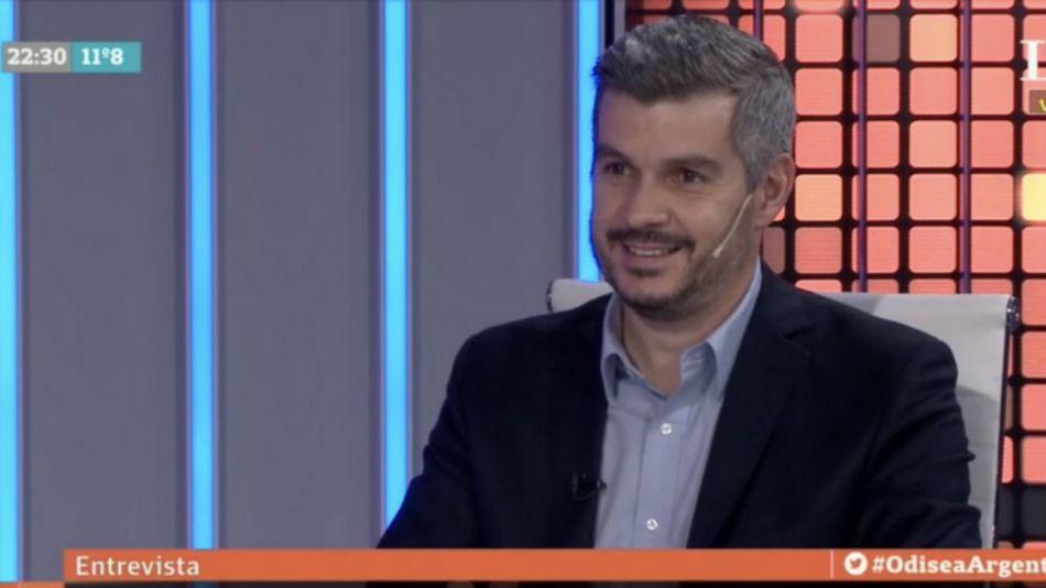 El jefe de Gabinete Marcos Peña fue entrevistado en LN+.