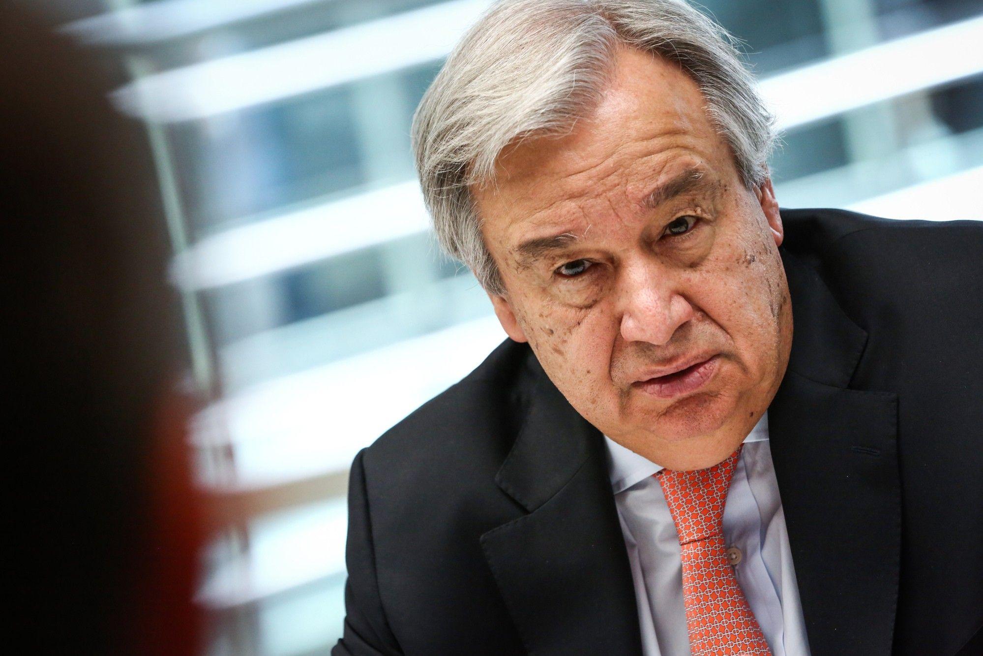 United Nations Secretary-General Antonio Guterres Interview