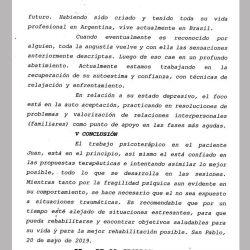Diagnóstico de Juan Darhés