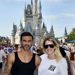 Las fotos más divertidas de las vacaciones de Cubero y Mica Viciconte en Disney