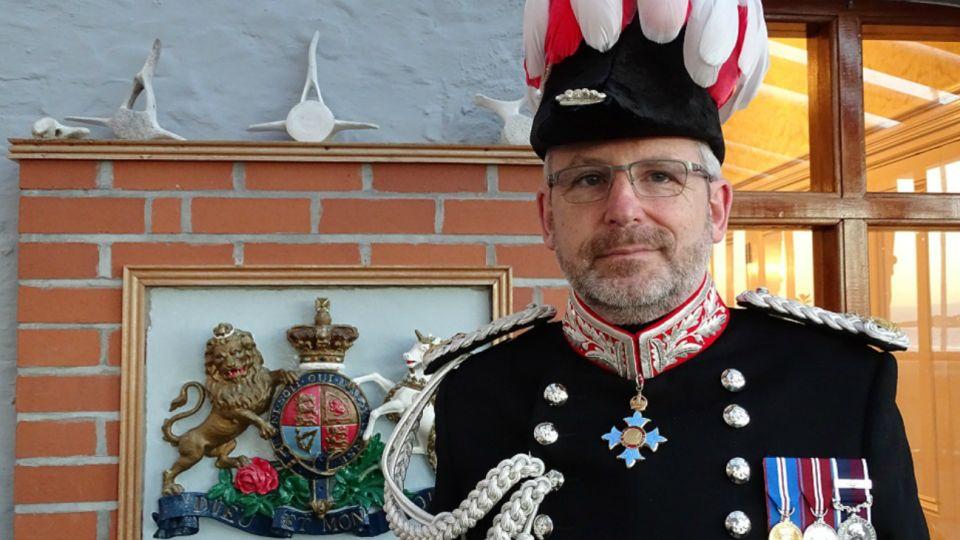 El gobernador kelper de las Islas Malvinas, Nigel Philips.