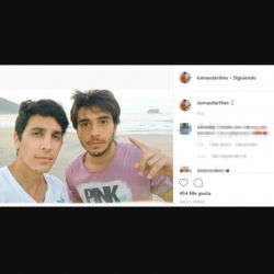 Tomás y Gianfranco volvieron a las redes