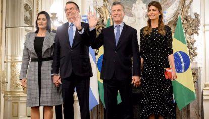 El exquisito menú autóctono que almorzaron Mauricio Macri y Bolsonaro