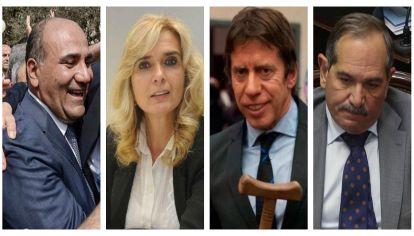 Manzur, Elías de Pérez, Alperovich, Bussi