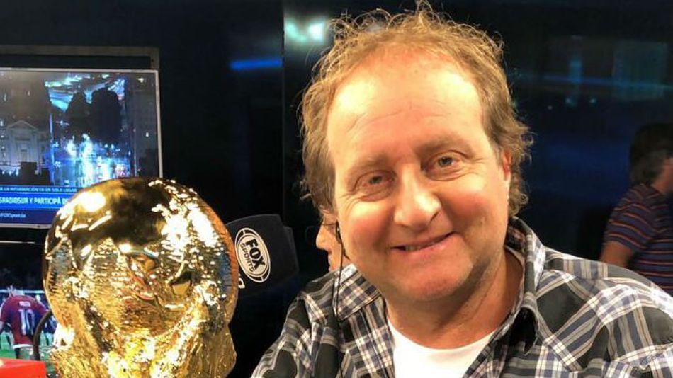 El periodista deportivo Sergio Gendler.
