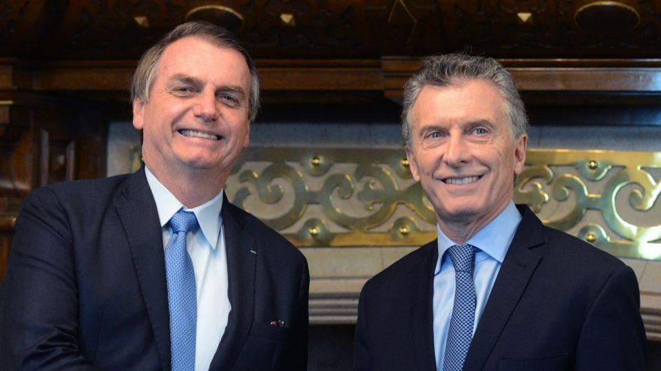 Macri y Bolsonaro 20190606