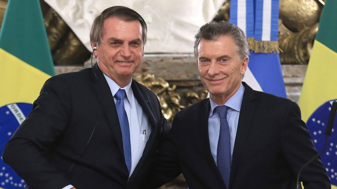 Bolsonaro and Macri.