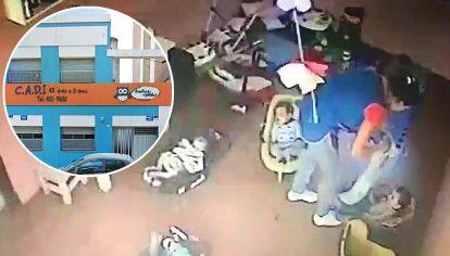 Clausura. Esta semana cerraron la guardería. Las imágenes del maltrato.