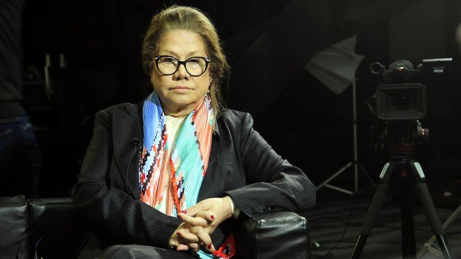 Graciela Camaño, en la entrevista con Jorge Fontevecchia.