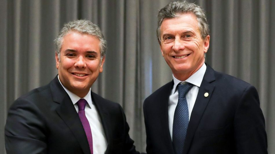 Ivan Duque Colombia Macri g_20190608