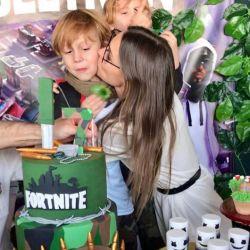 """Las mejores fotos del cumpleaños """"gamer"""" de Beltrán, el hijo de Pampita y Vicuña"""