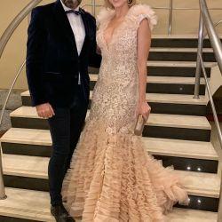 Carla Peterson y Gabriel Lage