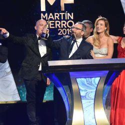 La gran entrega de los Martín Fierro (Fotos: Telefe)