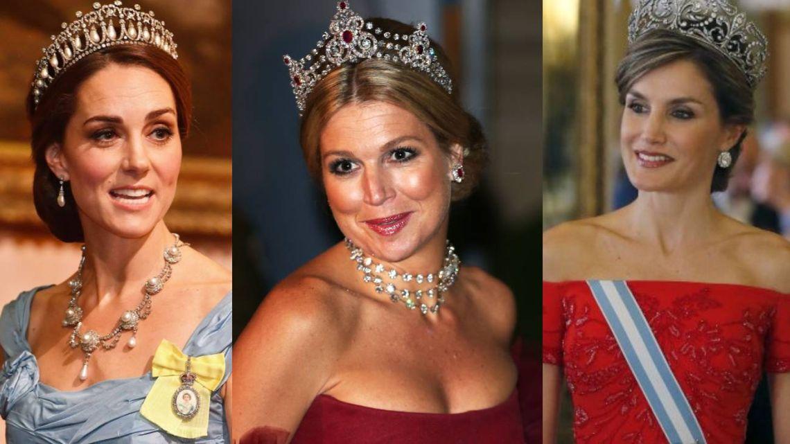 Máxima Zorreguieta junto a Kate Middleton y Letizia Ortiz