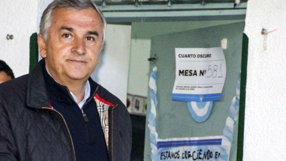 Gerardo Morales, favorito a la reelección en Jujuy.