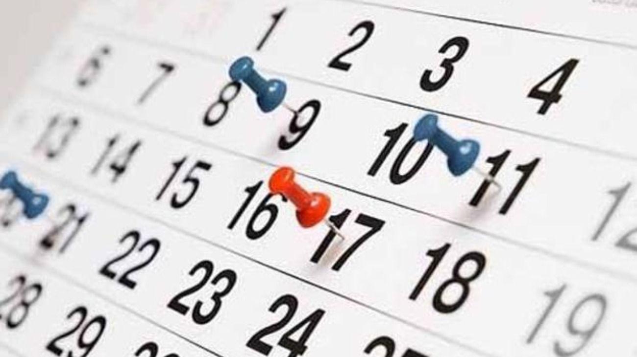Este mes tiene dos feriados en la misma semana.