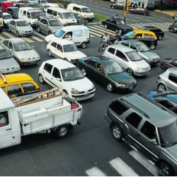 La falta de respeto a las normas de tránsito, un tema a resolver.