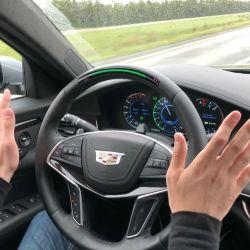 El Cadillac CT6 dispone del sistema Super Cruise para conducción autónoma.