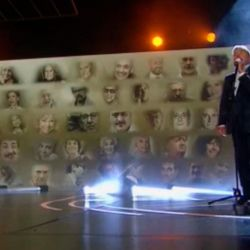 Montaner cantó en el fallido In Memoriam de APTRA