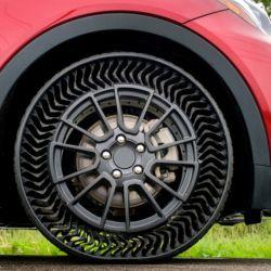 Neumático sin aire