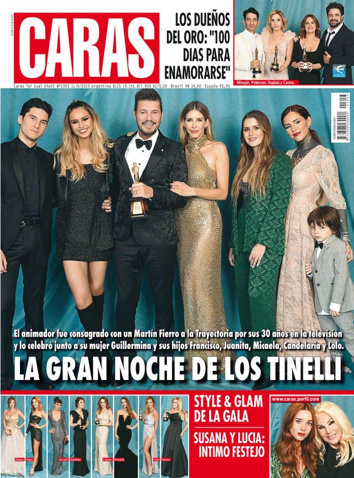 La gran noche de los Tinelli: trayectoria, amor y familia