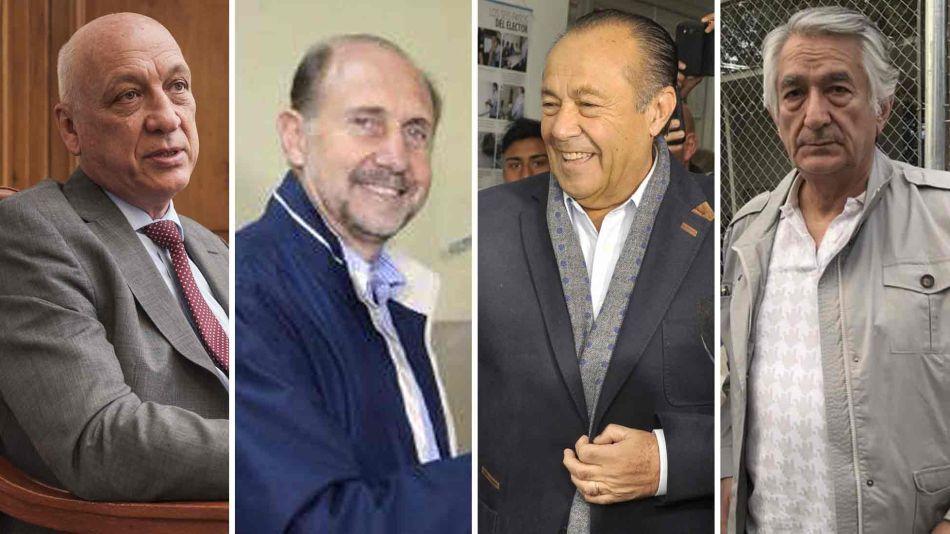 Bonfatti, Perotti, Adolfo Rodríguez Saá y Alberto Rodríguez Saá 06102019