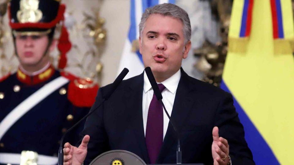 El presidente Mauricio Macri recibió hoy en la Casa Rosada a su par de Colombia, Iván Duque Márquez.