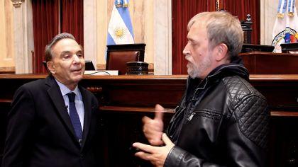Pichetto, al hablar hace 40 días desde el Senado.