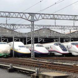 Japón fue la cuna de los trenes de alta velocidad con el Shinkansen.