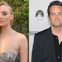 Sophie Turner y Matthew Perry